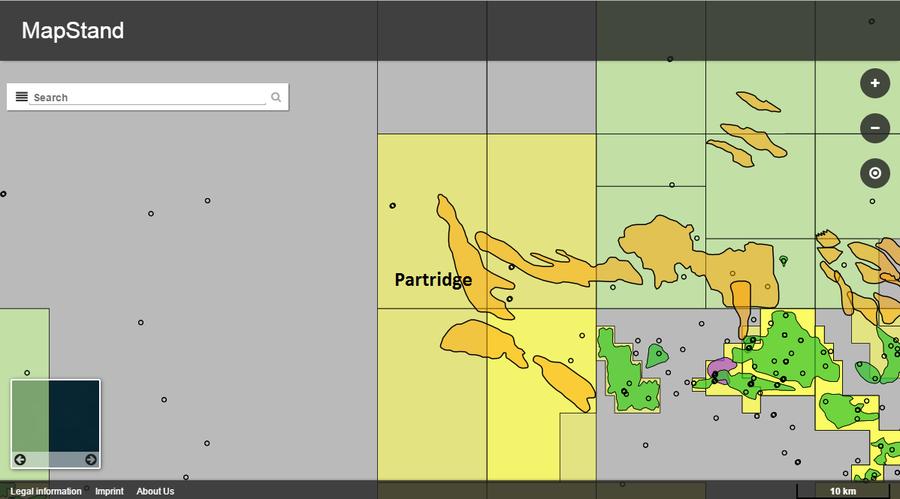 Partridge Basemap